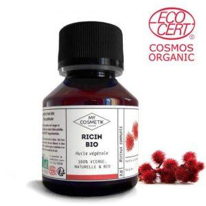 huile - végétale-ricin-bio - My Cosmetik