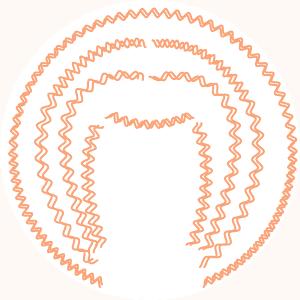 Typologie cheveux crépus - Bouclette